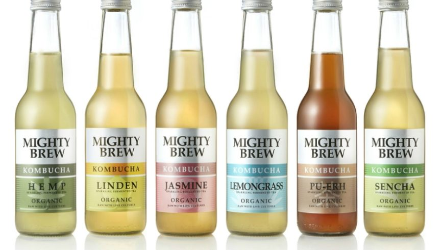 A new look and a new name for our premium botanical kombucha